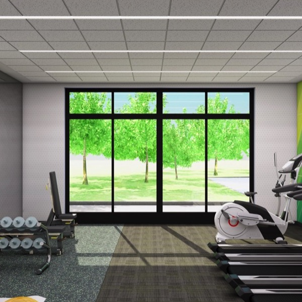 Public Area | Fitness Center| H4 Renovations
